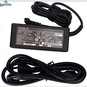 Fonte Notebook Positivo Cce -Sti-Tosh 19v 3.42a Plug 5.5x2.5mm
