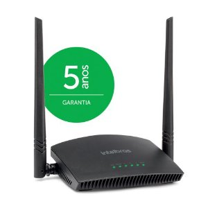 Roteador Intelbras Wireless 300Mbps RF 301K com 2 Antenas 5dB