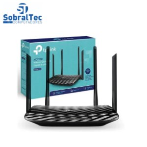 Roteador Wireless Tp-link Archer C6 Ac1200 Dual Band Mu-Mimo Gigabit