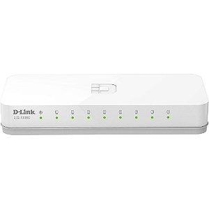 Switch D-Link 8 Portas 10/100 Mbps DES 1008C