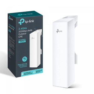 Access Point Tp-Link Externo Antena Cpe210 2.4ghz 9dbi Outdoor 300mbps