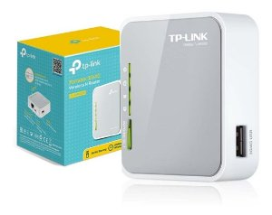 Roteador TP-Link Wireless TL-MR3020 3G / 3.75G ( 150 Mbps )