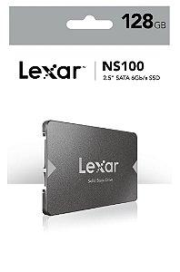 Hd Ssd 128gb Lexar 2.5 Sata 3.0 (6 Gb/s) Lns100-128rbn