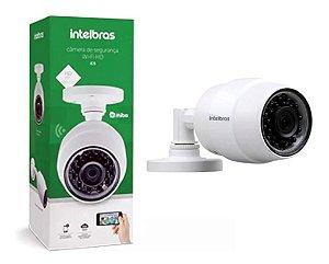 Câmera de Segurança Intelbras Wifi Sem Fio Mibo iC5 IP 66  HD 720p e Resistente à Chuva