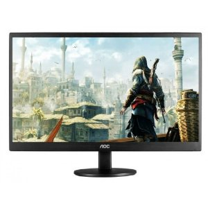"Monitor AOC 23,6"" LED Full HD Widescreen M2470SWD2 Tecnologia de Painel Wva"