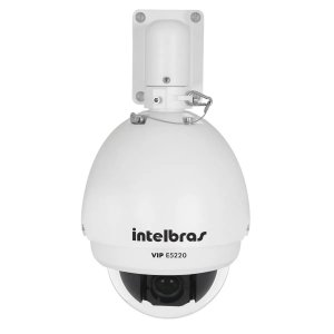 Câmera IP speed dome Full HD com IR  E5220 - INTELBRAS