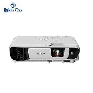 Projetor Epson PowerLite S41+ SVGA 3300 Lumens HDMI USB Com Bolsa