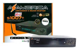 Receptor Digital Az-America S1007 Plus Ultra HD 4K Iptv Iks Vod
