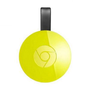 Google Chomecast 2 Hdmi Lacrado Original Facebook Amarelo