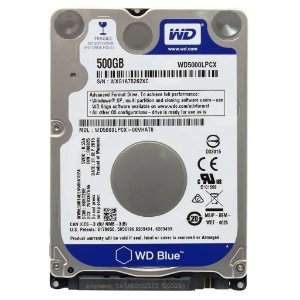 Hd Int. Notebook 500 GB 5.4 Slin Western Digital Wd5000Lpcx