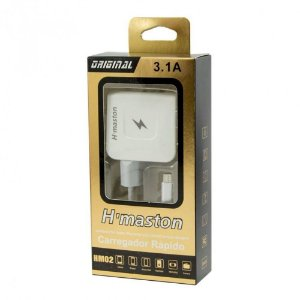 Carregador Usb V8 H'maston 3.1a Hm-02
