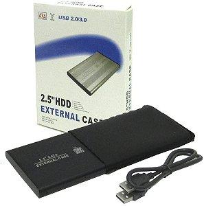 Case Externa Para HD 2,5 USB 2.0 SATA