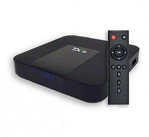 Receptor Tv Box TX9 4k 4GB de Memória 32GB de Armazenamento Android 8.1