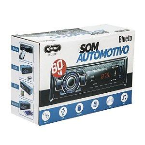 Som Automotivo Radio Mp3 Com Controle Remoto - Knup KP-C29BH