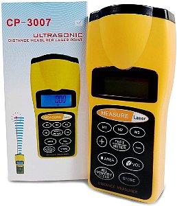 Trena Digital a Laser Cp-3007 Mede Distancias Até 18 Metros XT-3007