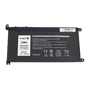Bateria para Notebook Dell Inspiron 15-5567-A40c Litio-Polimero Pn Wdx0r