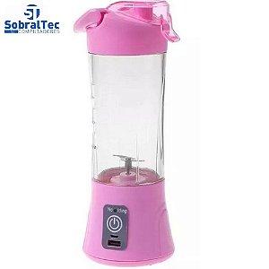 Mini Liquidificador Portátil Shake Juice Cup + Cabo
