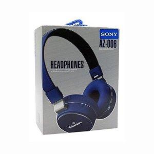 Fone De Ouvido Headphones Wireless Sony Az-006