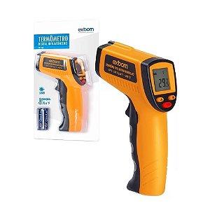 Termômetro Digital Infravermelho Temperatura De -50° à 330° Exbom TDI-330