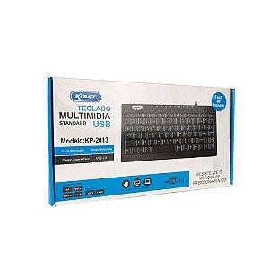 Teclado Usb Multimidia Standard Knup KP-2013