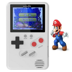Mini Video Game Retro Portatil Sup 500 Jogos Na Memoria Wanle
