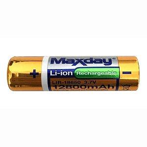 Bateria Recarregável Maxday Lir-18650 12800mAh 3.7V