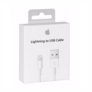 Cabo Usb Para Iphone 7 Lightnig Branco