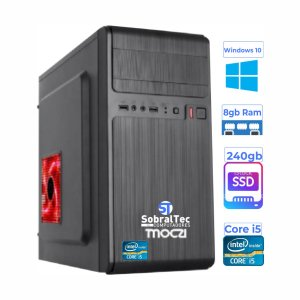 Computador Gamer Core i5-4660S- SSD 240Gb- Memória 8Gb- Vídeo 1Gb