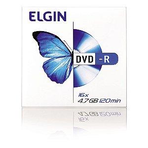 DVD R Elgin 16X 4.7GB 120 min. Unidade