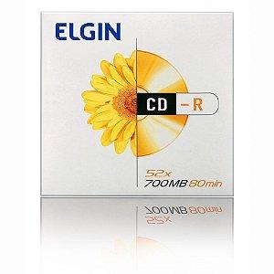 CD R Elgin 52X 700MB 80 Min. Unidade