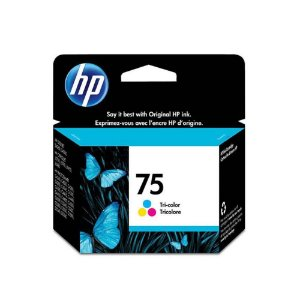 Cartucho hp 75 Color 170 Paginas Cb337wb
