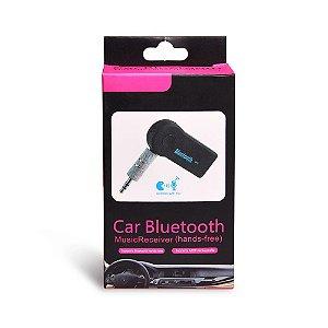 Adaptador Áudio Receptor Música Car Bluetooth Usb Veicular E Som
