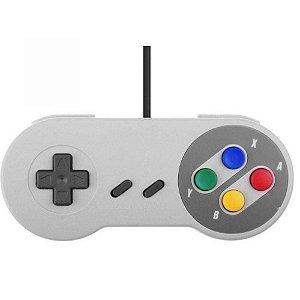 Controle Joystick USB Super Nintendo SNES Knup - KP-3124