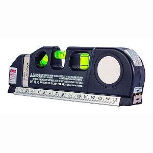 Multiferramenta Profissional Trena Nivel Laser Nivelador Régua Xtrad LV-03