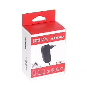 Fonte Bivolt 9V 3A Plug 3,5mm x 1,35mm Xtrad Xt-6017