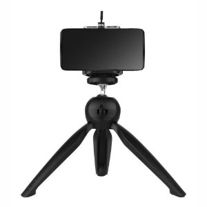 Mini Tripé De Mesa Com Suporte Para Celular Rotação 360º