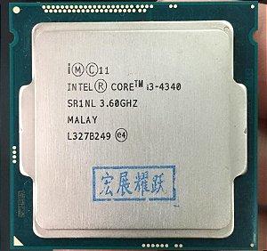 Processador Intel® Core™ i3-4340 Cache de 4 M, 3,60 GHz Ger 4