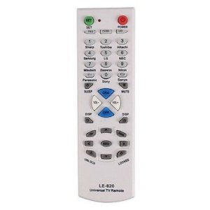 Controle Remoto Para Tv Universal Le-620 Lelong