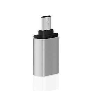 Adaptador USB A 2.0 Fêmea Para Tipo-C Macho  Xtrad Xt-2065