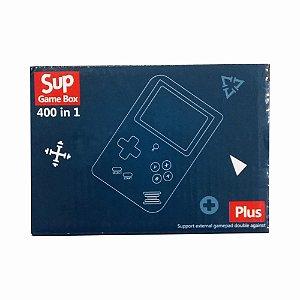 Mini Game Box Sup Plus Portátil 400 in 1 Jogos Retro 3 Pilhas