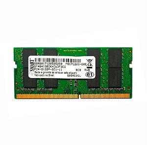 Memória Notebook DDR4 de 8GB Smart SF4641G8CKHIWDFSEG PC4-2133P-SE1-11