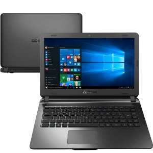 "Notebook Compaq Core i3-5005U 4GB 120GB SSD Tela 14"" Windows 10 Presario CQ21"