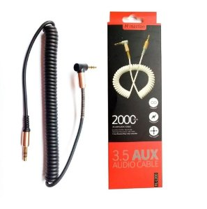 Cabo De Audio Auxilio P2 x P2 3.5mm 2 Metros H'Maston RL-L200