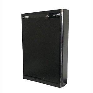 Case Para HD 3,5 Polegadas SATA III USB 3.0 Bussines 6 Gbps Exbom CGHD-G33