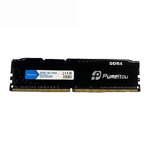 Memória Ram Desktop 16Gb Ddr4 2666MHz 1.2V 288 Pin-DIMM PC4-21300-CL19 Pumeitou