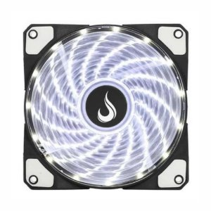 Cooler Fan Rise Mode Wind W1, 120mm LED Branco RW-WN-01-BW