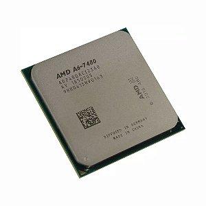 Processador AMD A6-7480 3.8Ghz Dual Core Cache 1MB FM2+ AD7480ACABBOX