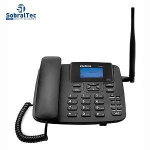Telefone Celular Fixo Intelbras Dual Chip CF4202 GSM Preto