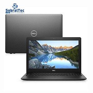 """Notebook Dell Inspiron I15-3583-FS1P 8ª Intel Core i5 8GB 256GB SSD 15,6"""" W10 Preto"""