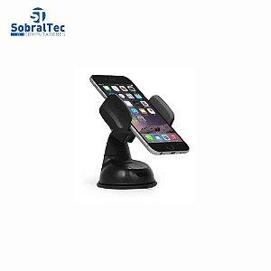 Suporte Veicular Ajustável 360 Para Smartphone Com Ventosa Xtrad FF0022